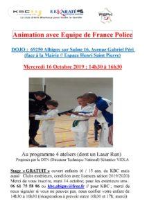 KBC Stage Equipe de France Police 16oct2019