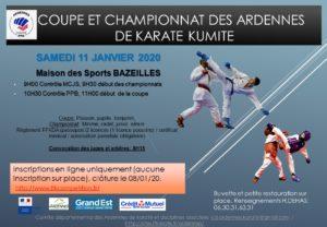 CpChamp Kumite Ardennes 11-01-20