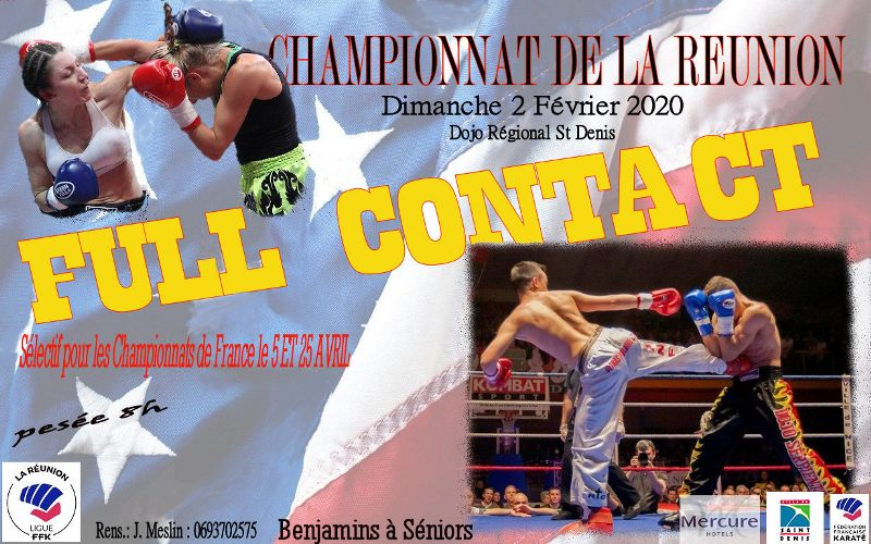 CHAMP FULL CONTACT 2020-affiche