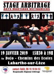 2019-01-19- Stage Arbitrage - AMV - Labasthe sur Lèze