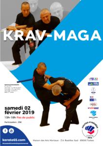 2019-02-02- Stage Krav Maga - Tarbes