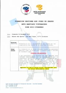 Formation Juges de grades - AMV - ZMP