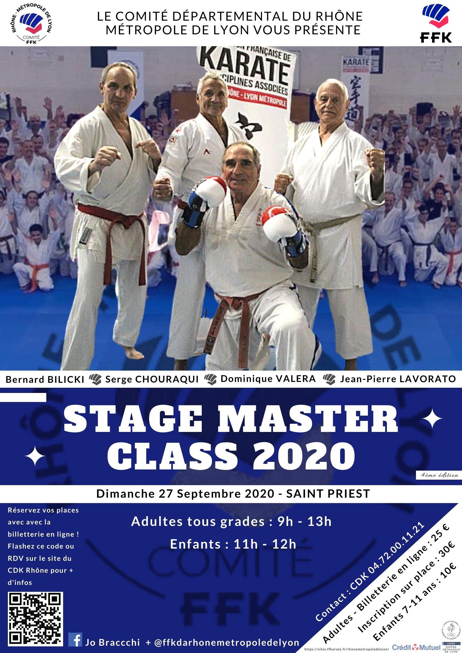 Copie de Copie de Affiche finale Master Class 2020