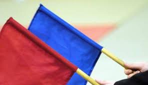 drapeaux arbitrage